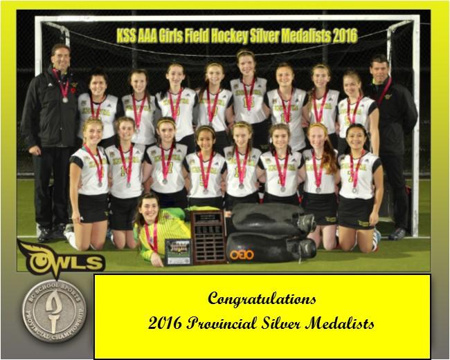 KSS AAA Girls Field Hockey Team